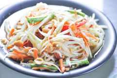 Som tam or spicy salad ,Thai food. Som tam ,spicy salad or Thai food Stock Photography