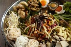 Som Tum. Spicy thai salad Som Tum Stock Photo