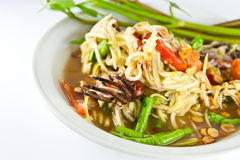 Som Tum thai food Royalty Free Stock Photo