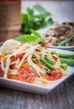 Som Tum. Thai papaya salad,  Som Tum from Thailand Royalty Free Stock Photography