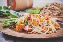 Som Tum. Thai papaya salad,  Som Tum from Thailand Stock Photography