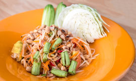 Som tum Thai Royalty Free Stock Image
