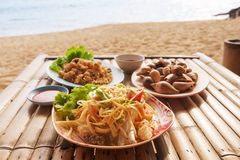 Som Tum Thai Salad Royalty Free Stock Photos