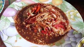 Som tum Thailanf Stock Photo