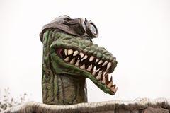 Som undergår mutation alligator i kärn- sommar Royaltyfria Bilder