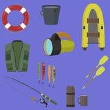som vishet för utrustningfiskefolk Royaltyfria Bilder