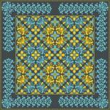 som wish för blom- scroll för färgdesignelement vectorized dig Arkivbilder
