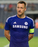 Soma Charity Tournament. ISTANBUL - AUGUST 08, 2014: Chelsea captain John Terry during award ceremony of Soma Charity Tournament in Sukru Saracoglu Stadium Stock Photography