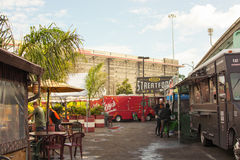 SoMa StrEat Food Park Royaltyfria Foton