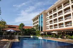 Somadevi Angkor hotell Fotografering för Bildbyråer