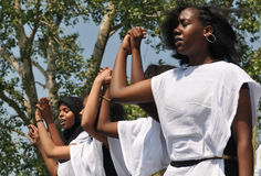 Somali Dancers Stock Image