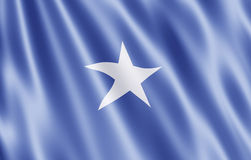 The Somali Republic flag Stock Photography