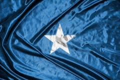 Somalia flag.flag on background.  Stock Photography