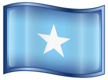 Somalia Flag icon Royalty Free Stock Image