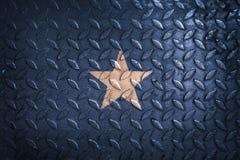 Somalia flag,metal texture on background.  Royalty Free Stock Photography