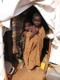 Somalia Hunger Refugee Camp Stock Photos