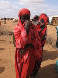Somalia Hunger Refugee Camp Royalty Free Stock Photography