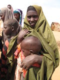 Somalia Hunger Refugee Camp Royalty Free Stock Image