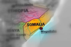 Federal Republic of Somalia. Somalia, officially the Federal Republic of Somalia black and white selective focus stock photos