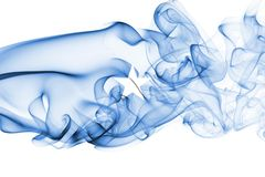 Somalia smoke flag. Isolated on a white background Stock Photo