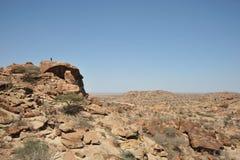 Somalisk ladscape Fotografering för Bildbyråer