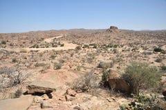 : Somalisk ladscape Royaltyfri Foto