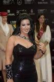 somayya för kashab för aktrisal egyptisk Arkivbilder
