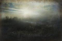 Somber landschap royalty-vrije stock foto