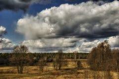 Sombere gebieden van Rusland Royalty-vrije Stock Foto's