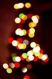 Sombere kleurrijke lichtenachtergrond Stock Foto