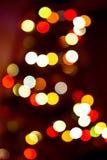 Sombere kleurrijke lichtenachtergrond Royalty-vrije Stock Afbeelding