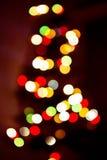 Sombere kleurrijke lichtenachtergrond Royalty-vrije Stock Afbeeldingen