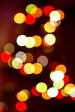 Sombere kleurrijke lichtenachtergrond Royalty-vrije Stock Fotografie