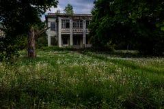 Sombere Middag - het Verlaten Allegheny-Armenhuis van de Provincie - New York stock afbeelding