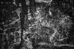 Sombere muurachtergrond, de zwarte oppervlakte van het textuurcement Stock Fotografie