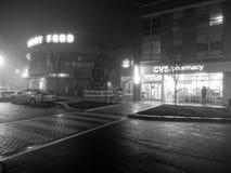 Sombere Nacht in Washington DC Stock Afbeeldingen