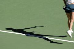 Sombra 03 del tenis Imagenes de archivo
