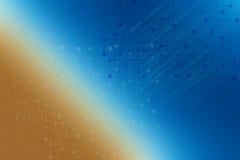 Sombra abstracta azul del fondo Imagen de archivo