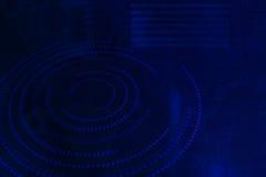 Sombra abstracta azul del futuro de la tecnología del fondo Fotos de archivo