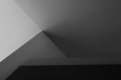 Sombra abstracta de la pared de la luz Foto de archivo
