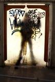 Sombra assustador Imagem de Stock