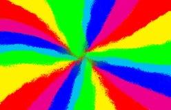 Sombra colorida del arco iris para el fondo Foto de archivo libre de regalías