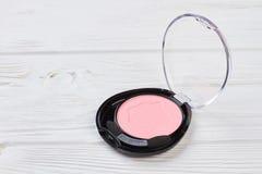 Sombra cor-de-rosa da cor no recipiente plástico fotografia de stock royalty free