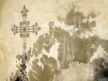 Sombra cruzada foto de archivo