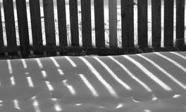 Sombra da cerca Imagens de Stock Royalty Free