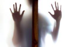 Sombra da mulher Fotos de Stock