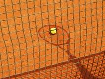Sombra da raquete de tênis (55) Fotografia de Stock Royalty Free
