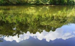 Sombra das reflexões Fotos de Stock