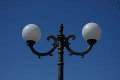 Sombra de lámpara de calle Foto de archivo libre de regalías