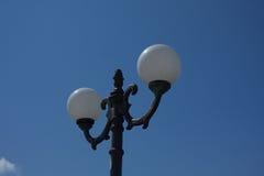 Sombra de lámpara de calle Imagen de archivo libre de regalías
